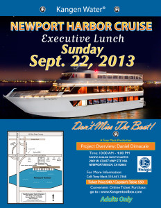 Newport Harbor Cruise September 22