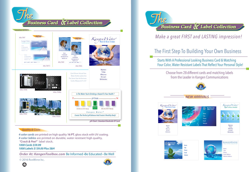 Kangentoolbox business card brochure colourmoves Image collections