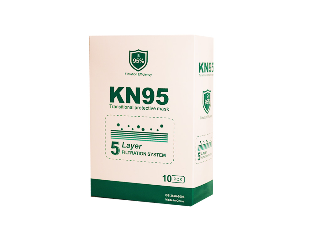 Protective Face Mask - KN95 (Box of 10)